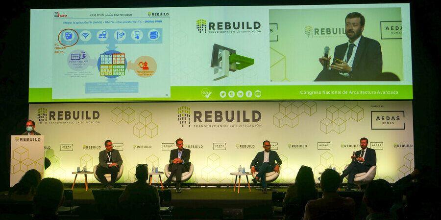 congreso nacional de arquitectura avanzada y construccion 4.0 en rebuild