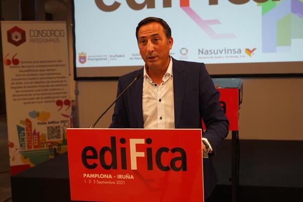 Manuel Medina presidente de consorcio passivhaus impulsor de edifica
