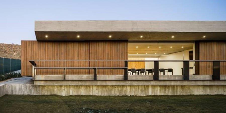 fachada ecologica de bambu