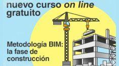 """Curso online gratuito sobre """"Metodología BIM: la fase de construcción"""" de la Fundación Laboral"""