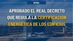 Aprobado el Real Decreto que regula el procedimiento básico para la certificación energética de los edificios