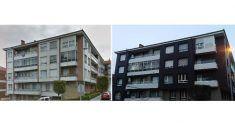Rehabilitación energética con fachada ventilada Agrob Buchtal en Getxo