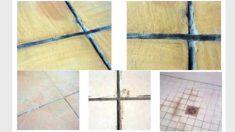 Juntas de colocación entre baldosas: defectos, causas y soluciones