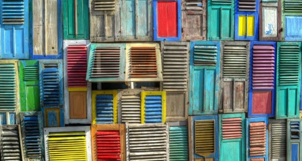 fachadas modernas en madera