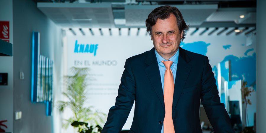 Alberto de Luca, CEO de Knauf Iberia