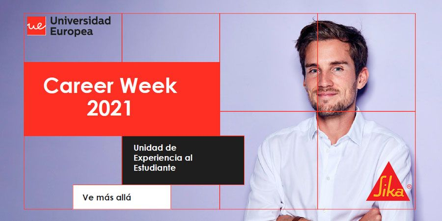 sika en la career week 2021 de la universidad europea