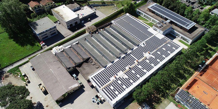 cubierta renolit alkorplan solar en sede de bally