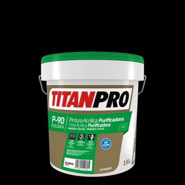 titanpro p90 15L pinturas sostenibles