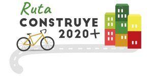 cartel de la ruta virtual construye 2020+